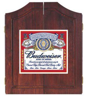 Budweiser Classic dart board cabinet