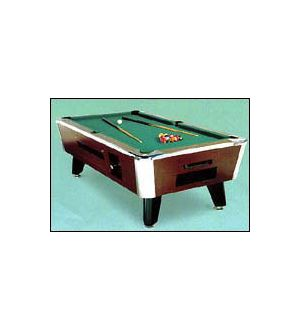Great American Eagle Billiard Table - coin operated