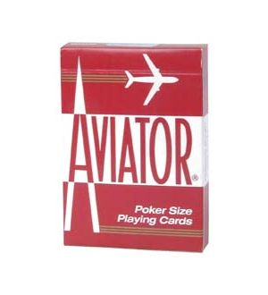 Aviator Poker Playing Cards; sold by the dozen