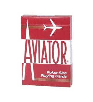 Aviator Pinochle Playing Cards; sold by the dozen.