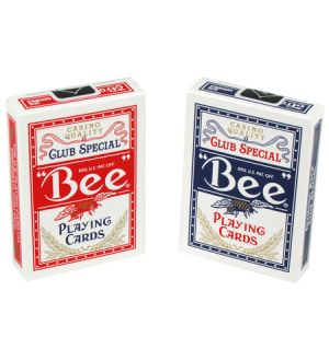 Bee playing cards. The Vegas Choice. Sold by the dozen. Poker or pinochle.