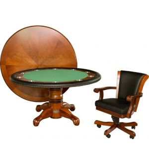 Berner Premium Poker Table and Chairs