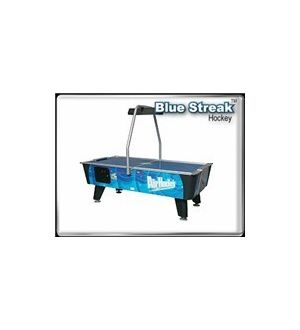 Blue Streak Coin Operated Air Hockey