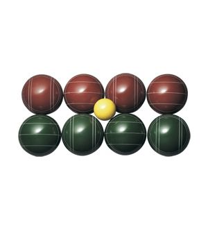 Bocce, regulation set