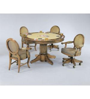 Darafeev Algonquin Poker and Dining Table