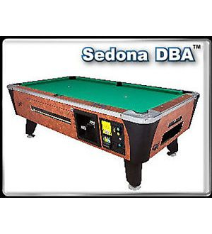 Dynamo Sedona Coin Operated Billiard Table with Dollar Bill Acceptor