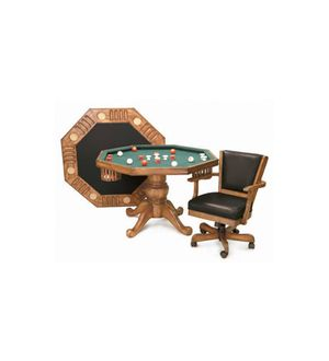 The Imperial 3-in-1 Poker and Dining Table and Chairs