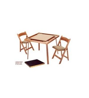 NEW Folding Card Table and Chairs