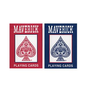 Maverick brand playing cards, sold by the dozen