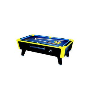 The Great American Neon Billiard Table