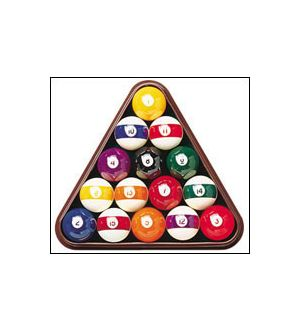 Deluxe Asian Billiard ball set, 2 3/8 inch cue ball