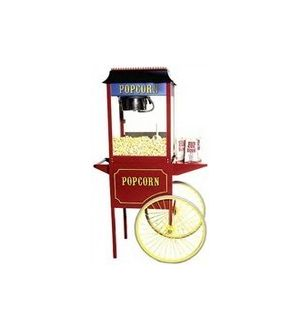 Old Fashioned Movie Popcorn Machines and Carts