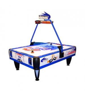 SEGA Sonic All Stars 4 player air hockey