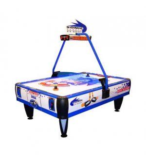 SEGA Sonic All Stars 4 player air hockey