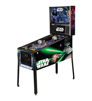 STAR WARS PREMIUM Pinball Machine by Stern *** NOW WITH FREE FREIGHT!!!