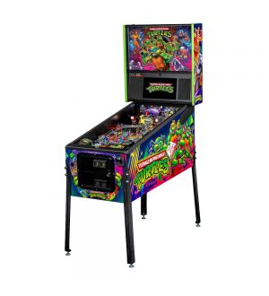 Teenage Mutant Ninja Turtles Pro Pinball Machine by Stern *Orders being taken now for January Production***NOW WITH FREE FREIGHT INCLUDED!!!