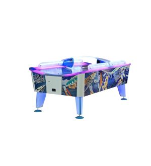 WIK Big Wave WATERPROOF OUTDOOR curved top air hockey table