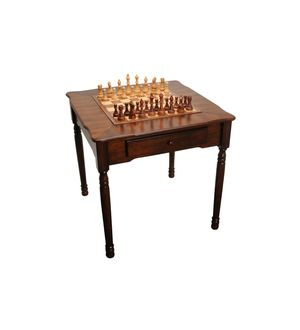 The Manchester chess and backgammon table