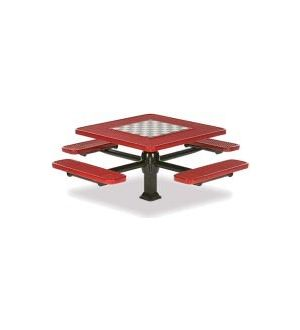 NEW Signature Outdoor Game Table, In-ground, Square